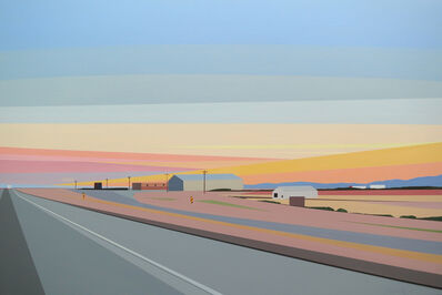 Greta Van Campen, 'Sunset Near El Paso', 2015