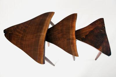 Mira Nakashima, 'Set of Amoeba Tables', 2018