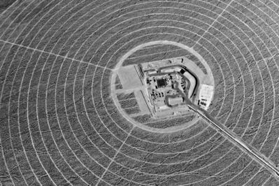 Jamey Stillings, 'Concentric Circles of Service Roads Around Construction of Unit 1 Power Block, 2011, from Changing Perspectives: The Evolution of Ivanpah Solar', 2011