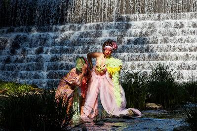 Ayana Evans, 'Tamarack Preserve Waterfall', 2021