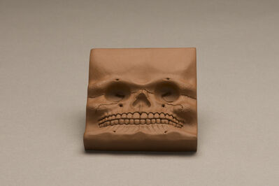 Richard Notkin, 'Skull Tile', 2006
