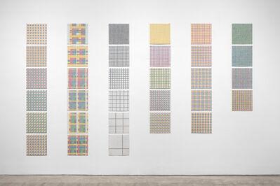 Jennifer Losch Bartlett, 'Grids, Series XVIII', 1971
