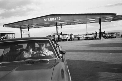 Mimi Plumb, 'Couple at the Gas Station', 1972