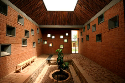 Kéré Architecture, 'Centre de Santé et de Promotion Sociale (Centre for Health and Social Advancement), Laongo, Burkina Faso', 2014