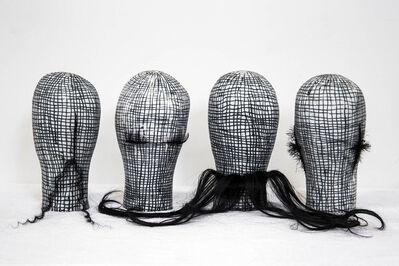 Julia Morison, 'Headcase (79-82)', 2018