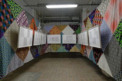 Pierre Leguillon, 'Dubuffet Typographe (Installation view)', 2013