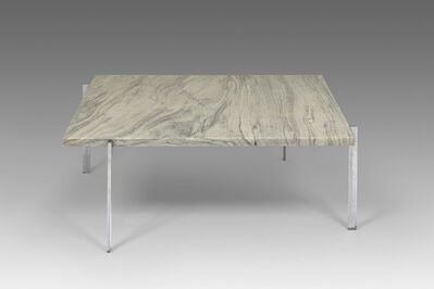 Poul Kjærholm, 'Square coffee table - cippolini marble', 1956