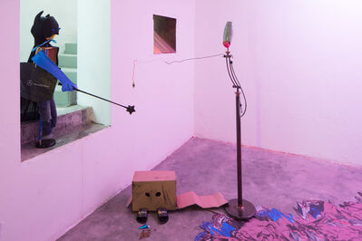 Jay Tan, 'Batty and Grace: Songs of puke and nukekubi', 2017