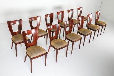 Osvaldo Borsani, 'Set of 12 Osvaldo Borsani 'Triennale' Original Dining Chairs, 1950s', 1950s