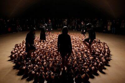 Héctor Zamora, 'Movimientos emisores de existencia', 2019