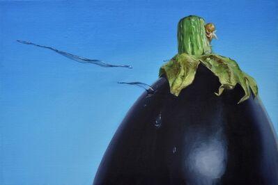 Hiroyuki Aoyama, 'an eggplant', 2018