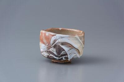 Ken Matsuzaki, 'Tea bowl, yohen shino glaze'