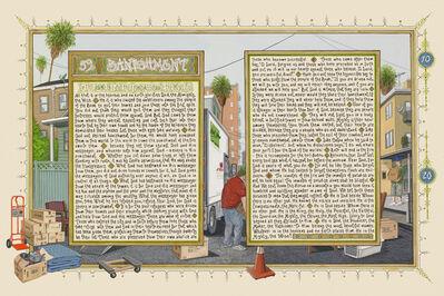Sandow Birk, 'American Qur'an: Sura 59', 2012