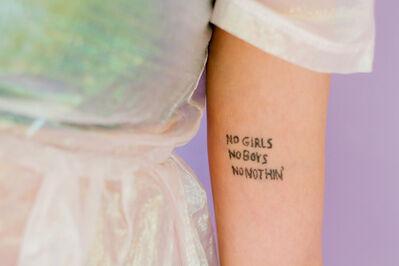 Laurence Philomene, 'No Girl, No Boys, No Nothing', 2017