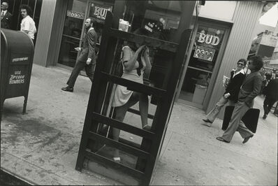 Garry Winogrand, 'New York (woman in phone booth)', 1968