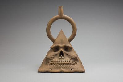 Richard Notkin, 'Pre-Columbian Pyramidal Skull #3', 1979