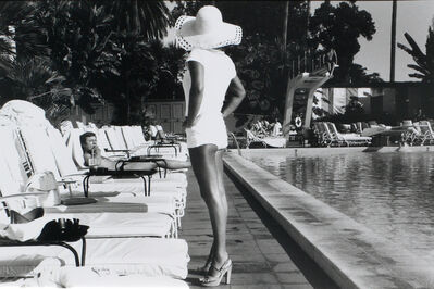 Anthony Friedkin, 'Woman by the Pool - Beverly Hills Hotel, California', 1975
