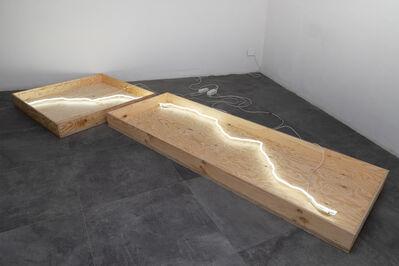 Simone Cametti, 'primitivo luminous installation', 2021