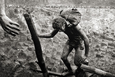 Sebastião Salgado, 'The Gold Mine, Serra Pelada, State of Pará, Brazil [hand]', 1986
