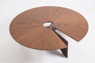 Decarvalho Atelier, 'Contemporary Round Coffee Table, Small', 2017