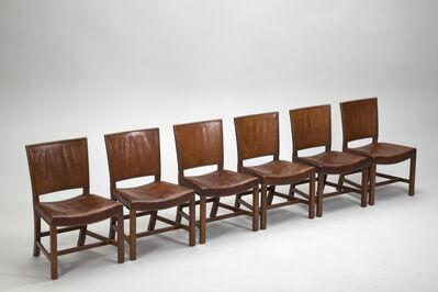 Kaare Klint, 'Set of Six 'Red' Chairs', ca. 1930