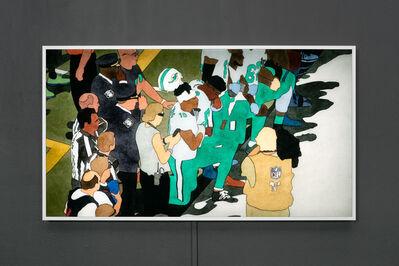 Kota Ezawa, 'National Anthem (Miami Dolphins)',  2019