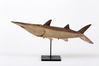 Unknown Artist, 'Shark, Wik people, West Cape York, Queensland', 1962