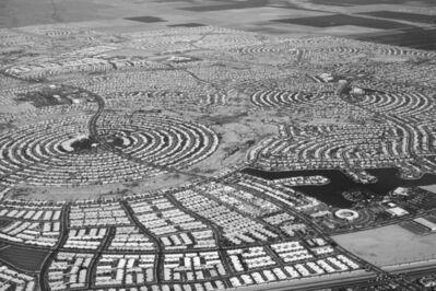 David Hurn, 'Light aircraft aerial view showing layout of Sun City', 1992