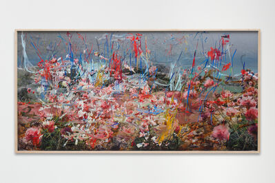 "Petra Cortright, 'Tale of two city note ""take no prisoner""', 2017"