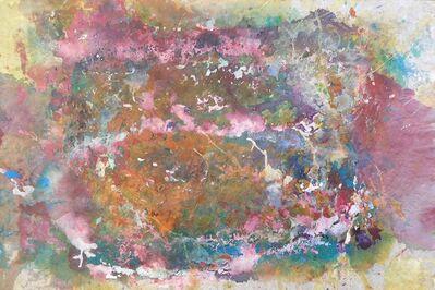 Bill Alpert, 'Untitled Drip in Pink, Blue, White and Orange', 1971-1973