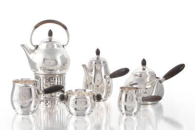 Georg Jensen, 'A Georg Jensen No. 80 tea and coffee service'
