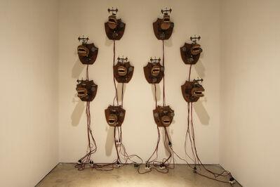 Heri Dono, 'Watching the Marginal People', 2000