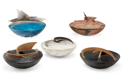 Connie Bracci-McIndoe, 'Connie Bracci-Mcindoe Pottery Vessels', late 20th c.