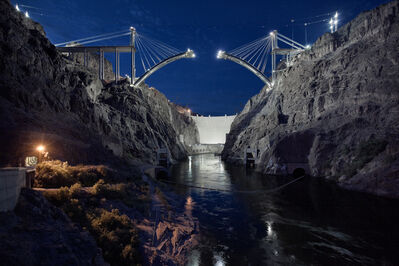 Jamey Stillings, 'Upstream View, May, 21, 2009, from the Bridge at Hoover Dam', 2009