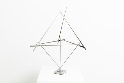 George Rickey, 'Fixed and Moving Tetrahedra II', 1971