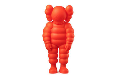 KAWS, 'WHAT PARTY (Orange)', 2020