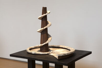 Ilan Averbuch, 'The Tower and the Snail (small)', 2014