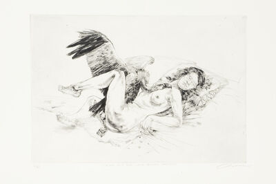 Diane Victor, 'Birth of a Nation: Leda and the White-Backed Vulture', 2009
