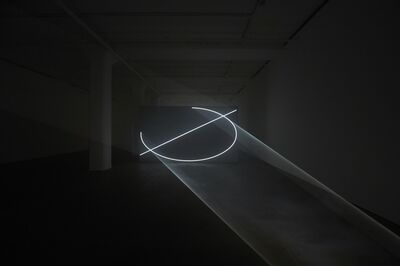 Anthony McCall, 'Split Second', 2018