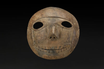 Unknown Artist, 'Skull Mask, Colima', 200 BCE-300