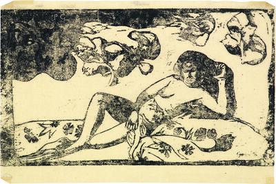 Paul Gauguin, 'Te Arii Vahine - Opoi | La femme aux mangos - Fatigué', 1898