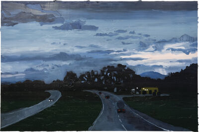Rodrigo Andrade, 'Highway at nightfall', 2016