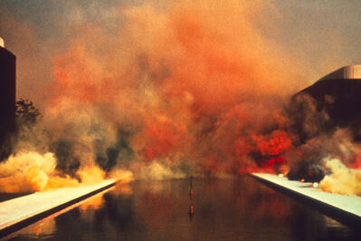 Judy Chicago, 'Multi-Color Atmosphere from the On Fire Suite- performed at Norton Simon Museum, 1970', 2013/2018