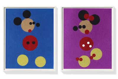 Damien Hirst, 'Mickey + Minnie (large)', 2016