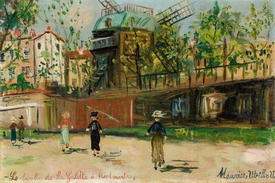 Maurice Utrillo, 'Moulin de la Galette, Montmartre', Unknown