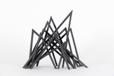 Bernar Venet, '13 Acute Unequal Angles', 2015