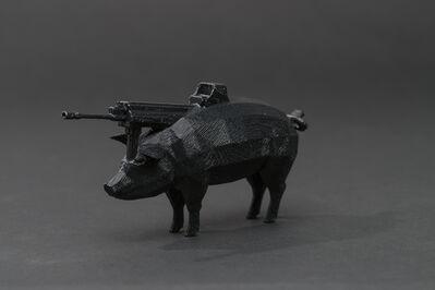 Morehshin Allahyari, '#pig #gun', 2013