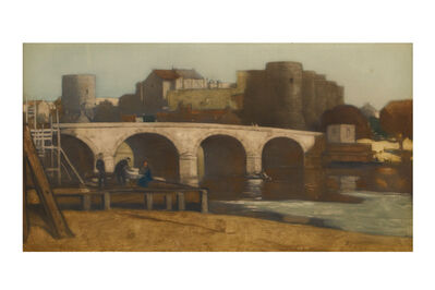 Sir David Young Cameron, 'Bridge, Arle'