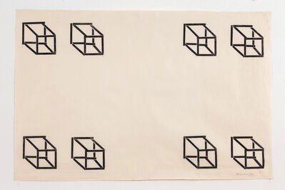 Carel Visser, 'Untitled (8 cubes)', 1970