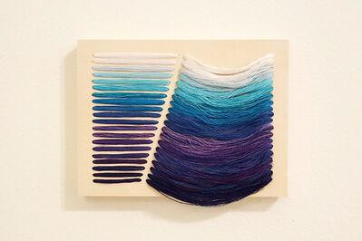 Bumin Kim, 'Accumulation (Blue Purple)', 2016